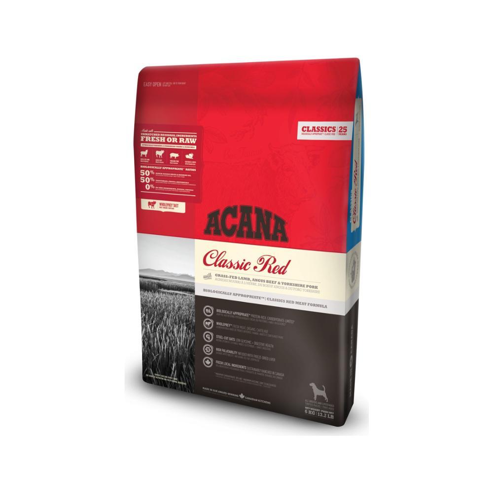 Acana rojo clásico comida de perro 2 Kg grano-crecimiento sano de alimentación...