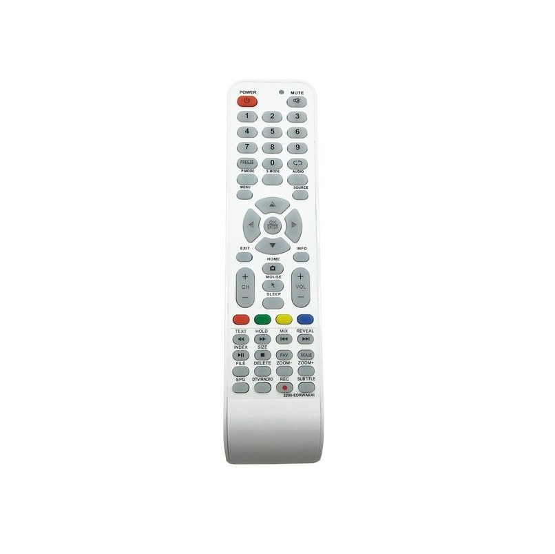 Control remoto Akai 2200-EDRWAKAI TV LCD LES-28A66M... LES-28A67W... LES-32A64M... LES-32A65W... 24HLE18T2SMW... 24HLE19T2SM... 24LEA20T2SM