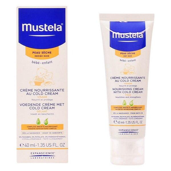 Crema Facial Nutritiva Bébé Mustela