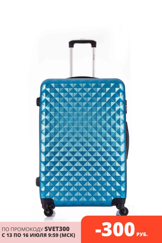 Lcase caso phatthaya mala azul viagem de bagagem