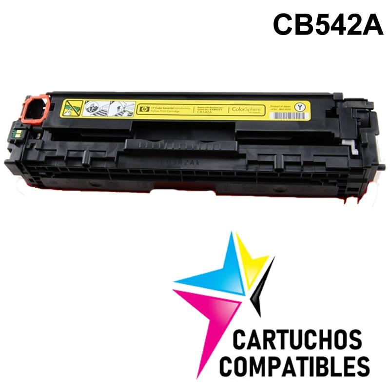 HP CB542A Yellow CP1515 CP1215 CP1518 CM1312 CP1514 CP1510 CP1217 CP1515n CP1525 CM1415 CB540A CB541A CB543A