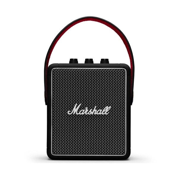 Marshall stockwell ii preto portátil bluetooth alto-falante 20w design compacto vintage