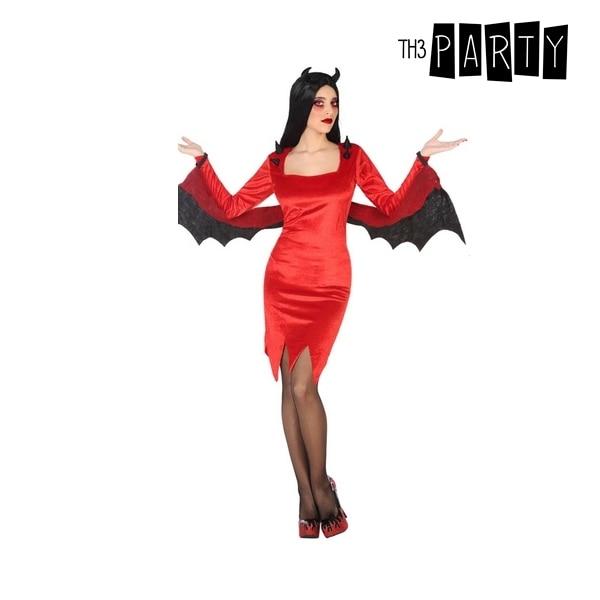 Disfraz para adultos Sexy she-devil (3 uds)