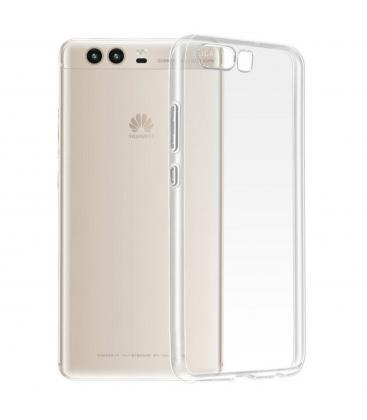 Funda de gel TPU carcasa protectora silicona para Huawei Ascend P10 Transparente