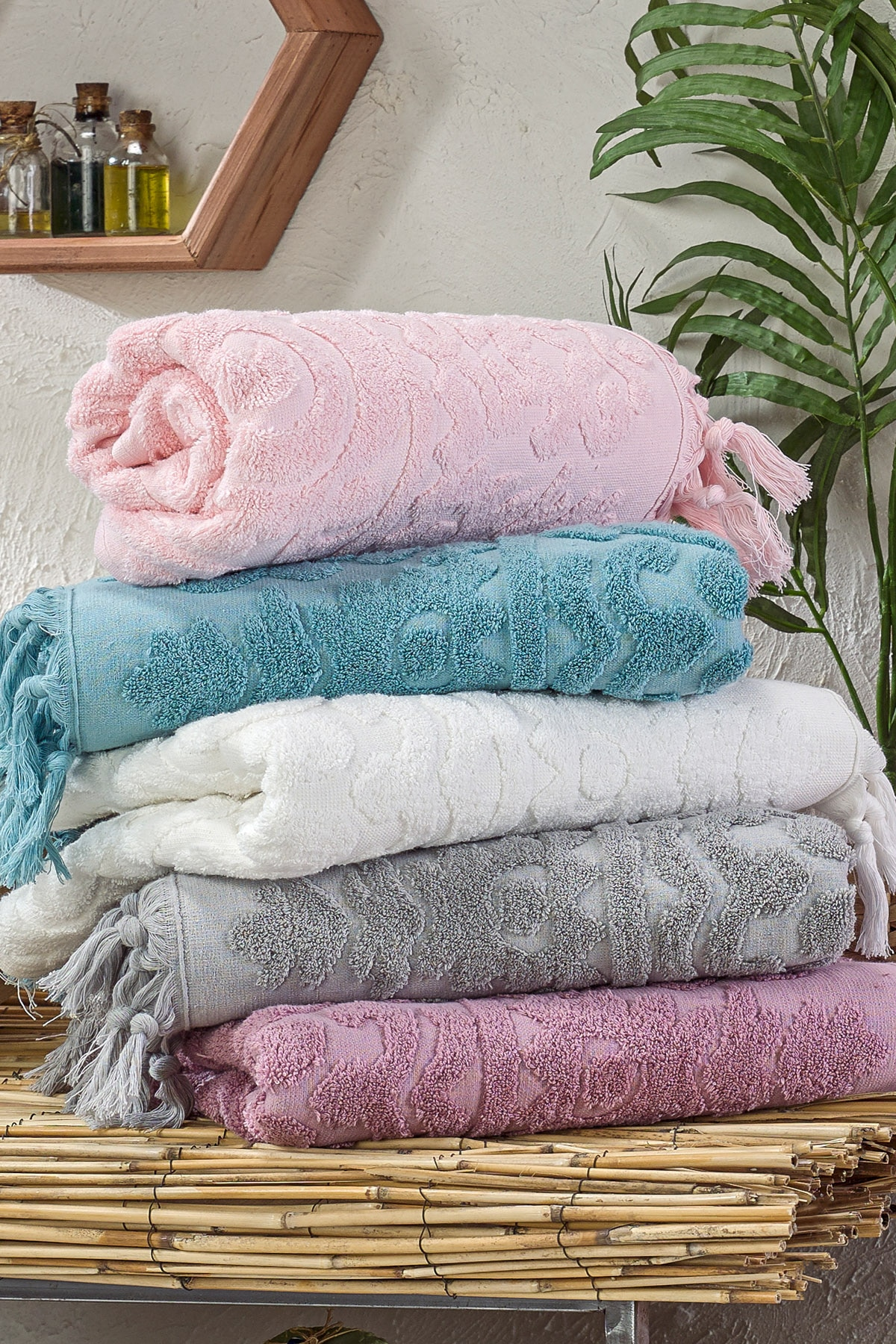 Organic Cotton %100 Home Supplies Soft Face/Hand Towel Thick Absorbent Cloth Dishcloths Hanging Cloth Home Accessories 50*90cm
