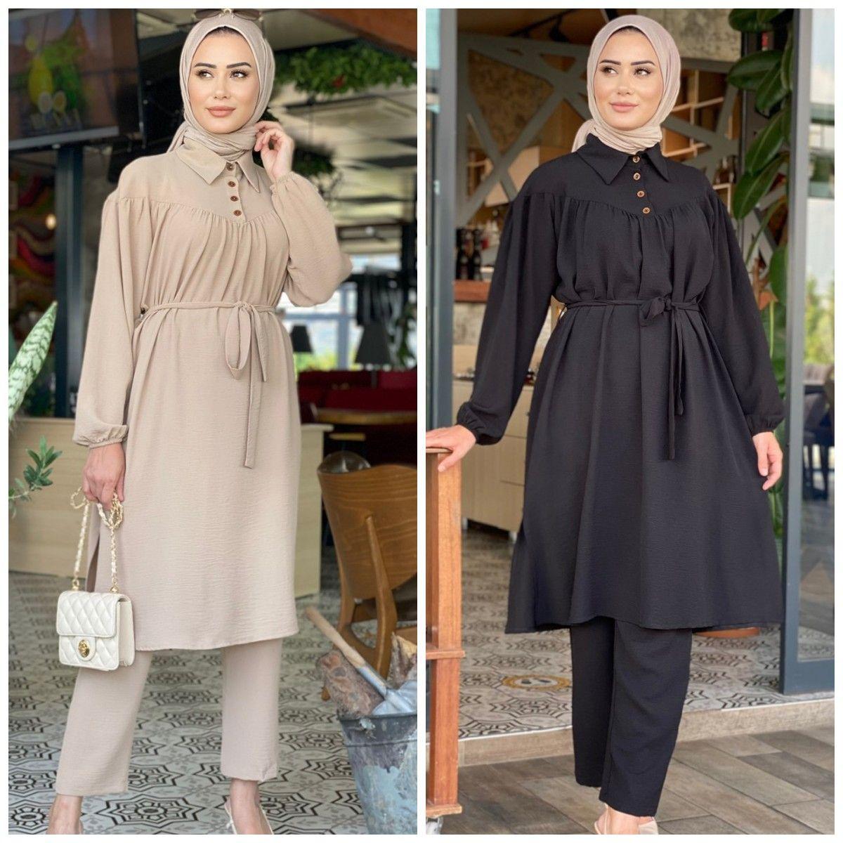 ملابس إسلامية مزدوجة موضة عباية قفطان قفطان إسلامي ملابس تورلي دبي 2021 موضة ملابس نسائية