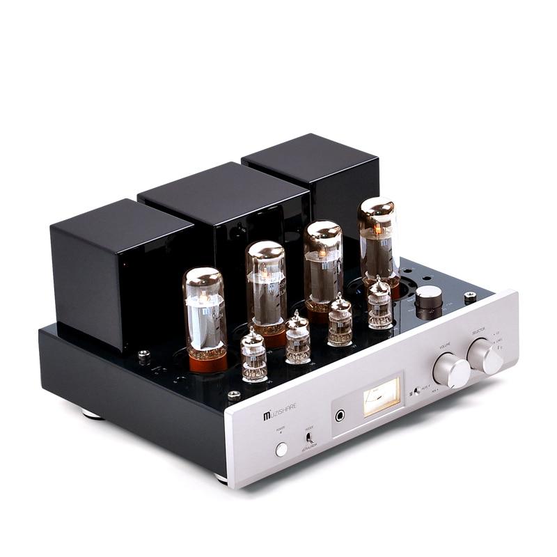 MUZISHARE X5-مضخم أنبوب الضغط والسحب HIFI EXQUIS ، سقالات مصنوعة يدويًا ، مصباح مدمج ، amp MZSX5