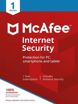 McAfee Internet Security 2021 | 1 appareil | 2 ans | Clé mondiale authentique✅⚡