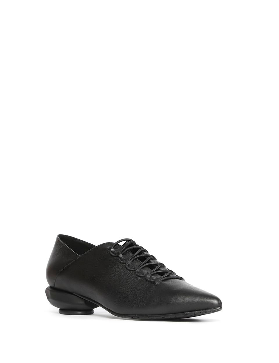 ILVi-mocassin femme fait main en cuir véritable Wella noir Metis 2020 chaussures femme pour printemps été