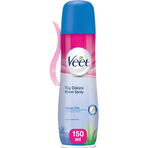 Veet Tuy Woven Spray 150 ml Sensitive care beauty feather spray natural permanent solution cosmetic makeup gel недорого