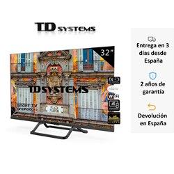 ТВ Смарт ТВ 32 дюйма TD системы K32DLX10HS. 3x HDMI, DVB-T2/C/S2, HbbTV [Корабль из Испании, гарантия 2 года]