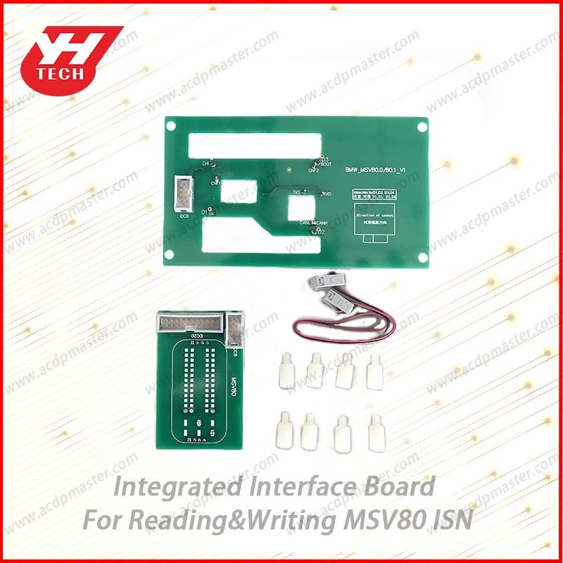 Msv80 isn integrado placa de interface leia/escreva msv80 isn yanhua mini acdp opcional parte