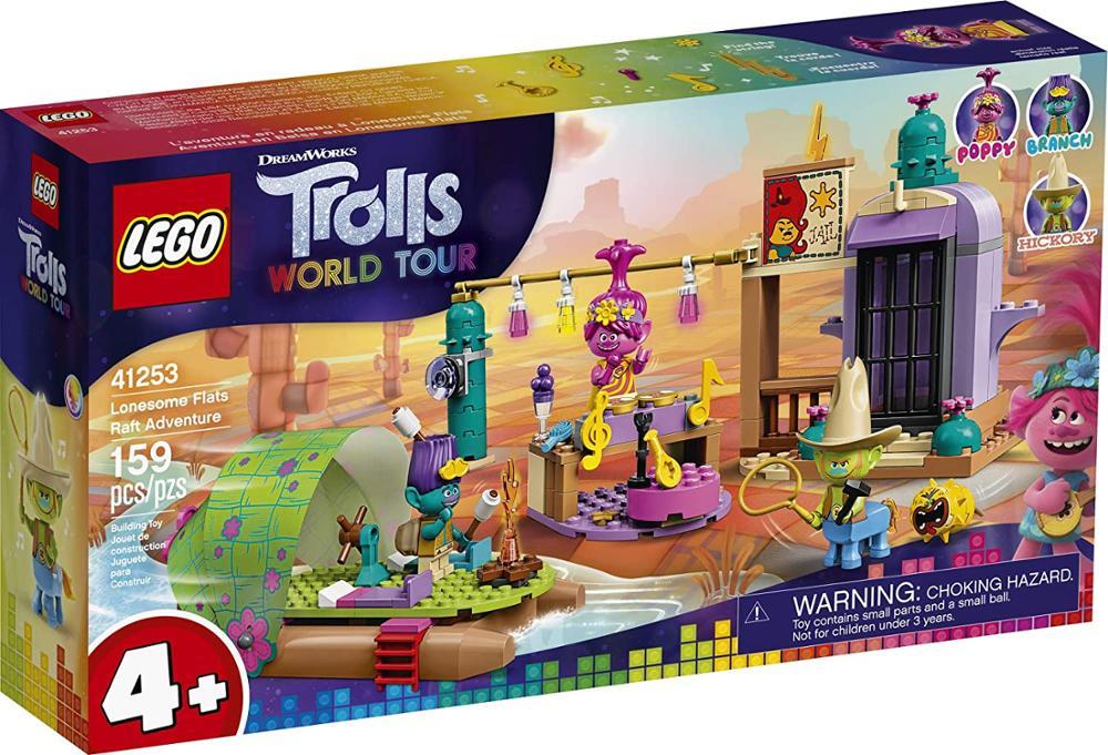 LEGO Trolls World Tour para niños, balsa plana, aventura, Kit de construcción,...