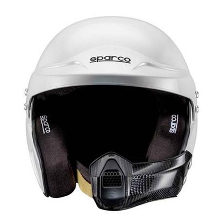 Casco de moto Sparco Air Pro Rj-5I Kevlar/Fiberglass Fia Tg. Xs blanco