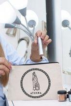 Angemiel Clutch Athena Warrior Hand Makeup Bag