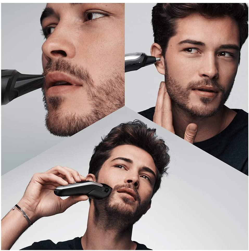 Braun MGK7220 10-in-1 Trimmer, Men's Beard Trimmer, Hair Trimmer and Body Trimmer with 8 Accessories enlarge