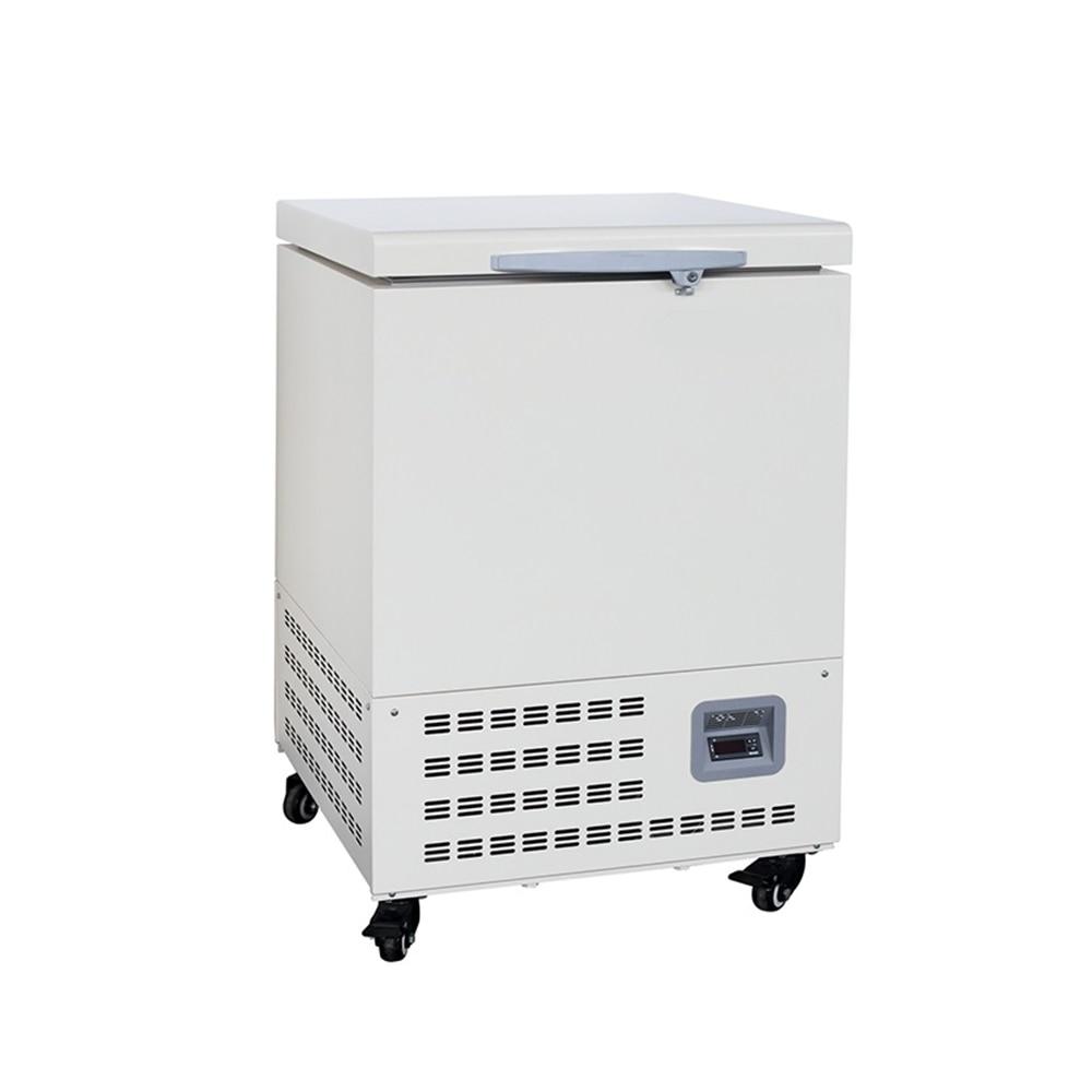 ZOIBKD Lab -86° C Horizontal Ultra-Low Temperature Medical Deep Laboratory Freezer Refrigerator 58L