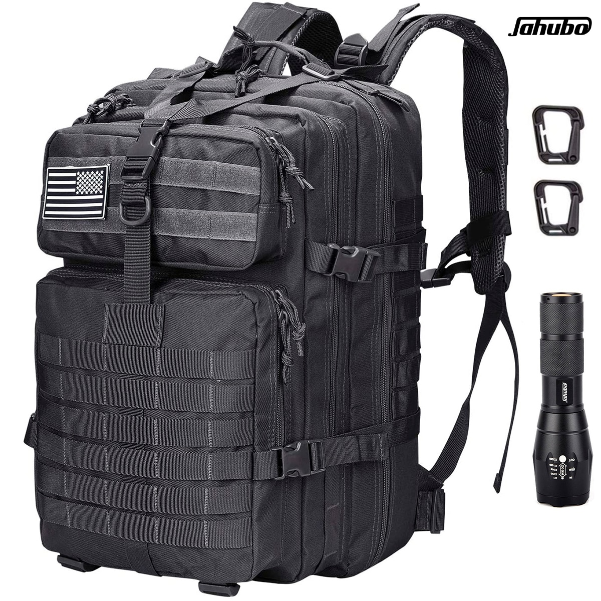 Waterproof tactical backpack 45L-50L large capacity Nylon 900D multiple pockets Hiking Camping, mountaineering, hunting, air