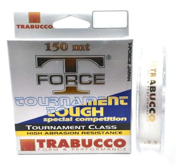 Trabucco T-Force Tournament Tough 150 Meters 0.35mm Monofilament Fishing Line