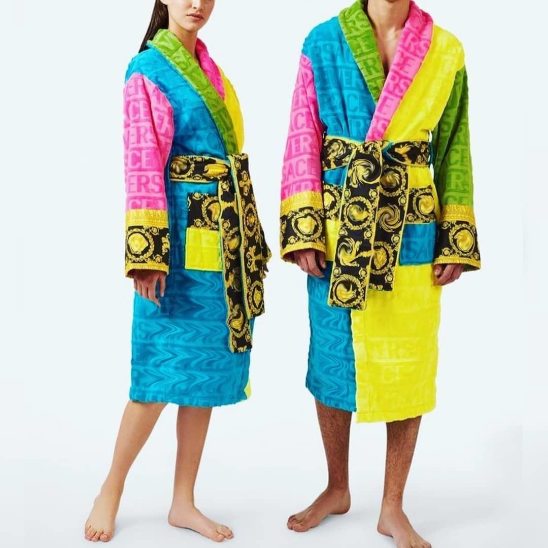 Kadınlar ipek pijama gecelik erkekler rahat Kimono bornoz açık lüks Retro rüzgarlık erkek gevşek ev giyim pijama tarzı ceket