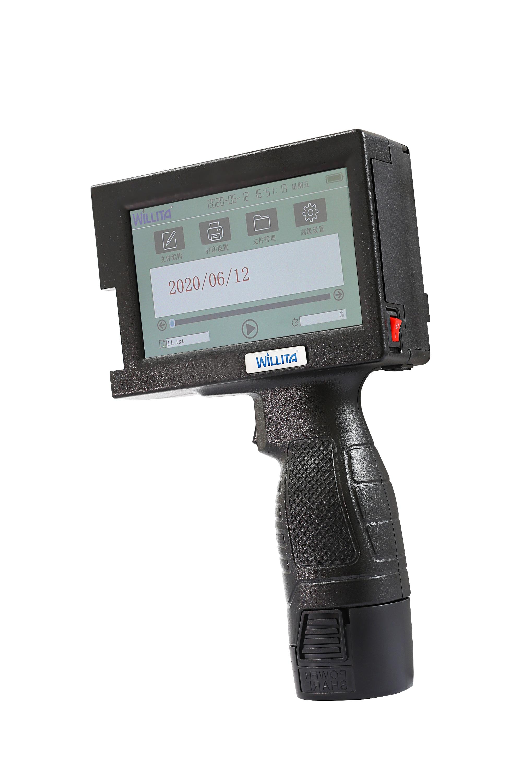 Portable Handheld Inkjet Printer Hand Jet Printer Production Expire Date Batch Code Serial Number Barcode QR Code enlarge