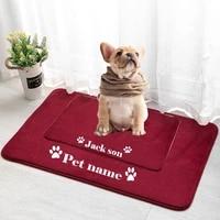personlized pet mat entrance hallway rectangle non slip floor rugs front pet mat outdoor rugs carpet pet bed mat