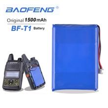 Baofeng BF-T1 3.7V 1500mAh Li-ion batterie pour Baofeng BFT1 talkie-walkie BF T1 Mini Radio bidirectionnelle Radio Baofeng accessoires