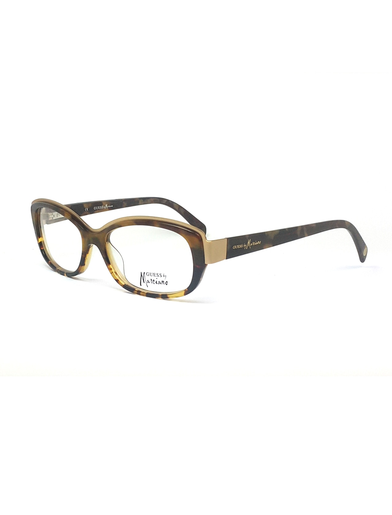 Markamilla Women Reading Glasses Frame Demo Glasses Eyewear Transparent High Quality WomenGuess Marcaino By GM 182 BRN
