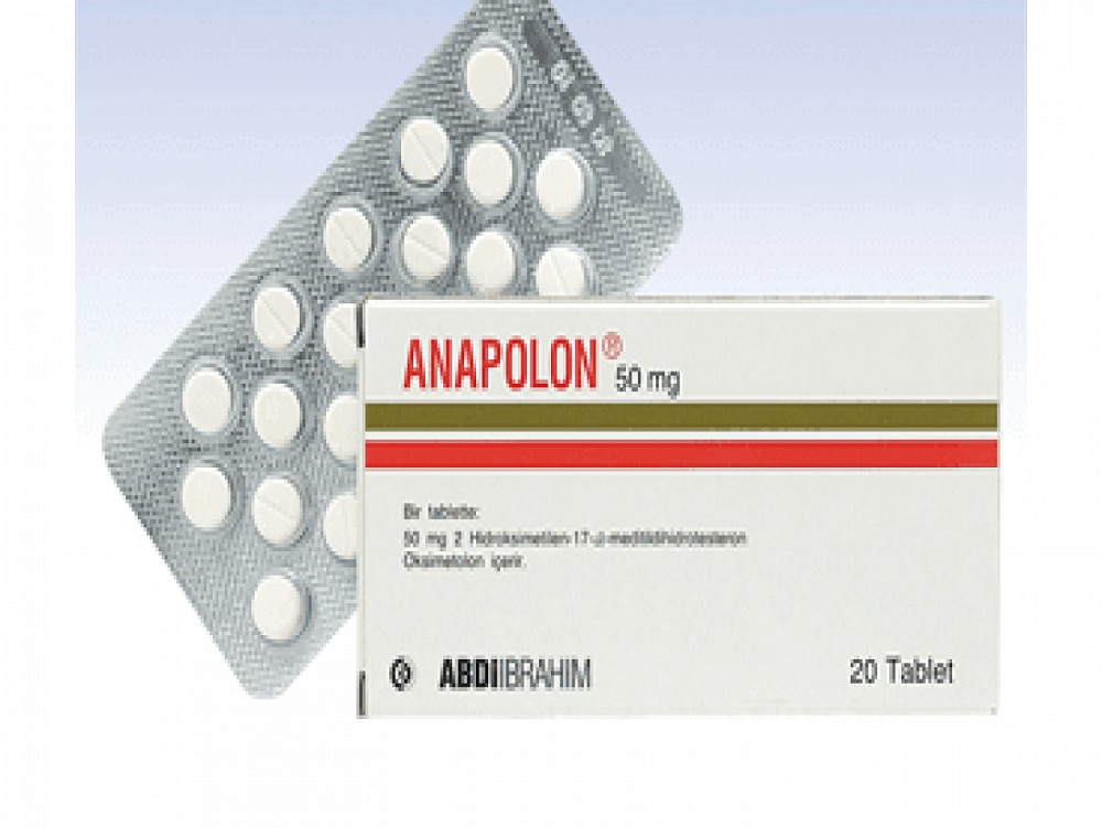 Anapolon 50mg 20 tablets hormone Bodybuilding fitness fit sports supplements For men and For Women