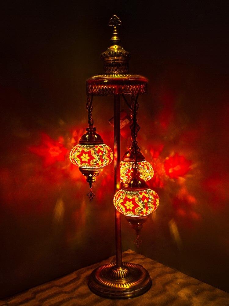 Handmade Unisex Art Decoration Vintage Floor Wall Bedside Table Ceiling Chandelier Ring Light Led Strip Lamp Xiaomi Red Orange