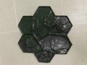 Moldes de poliuretano para concreto, moldes de borracha 2020 para parede e piso, 1 peça