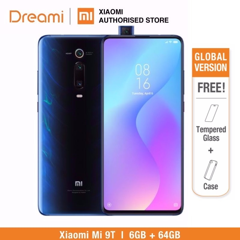 Versión Global Xiaomi Mi 9T 64GB ROM 6GB RAM, ROM Oficial (Nuevo y Sellado) mi9t Teléfono Móvil