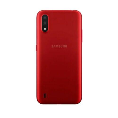 Перейти на Алиэкспресс и купить Камкордера Самсунг Galaxy A01 SM-A015 5,8 дюймсотовый телефон, 2 Гб оперативной памяти, 16 Гб встроенной памяти, Восстановленный-99% новый мобильный телефон...