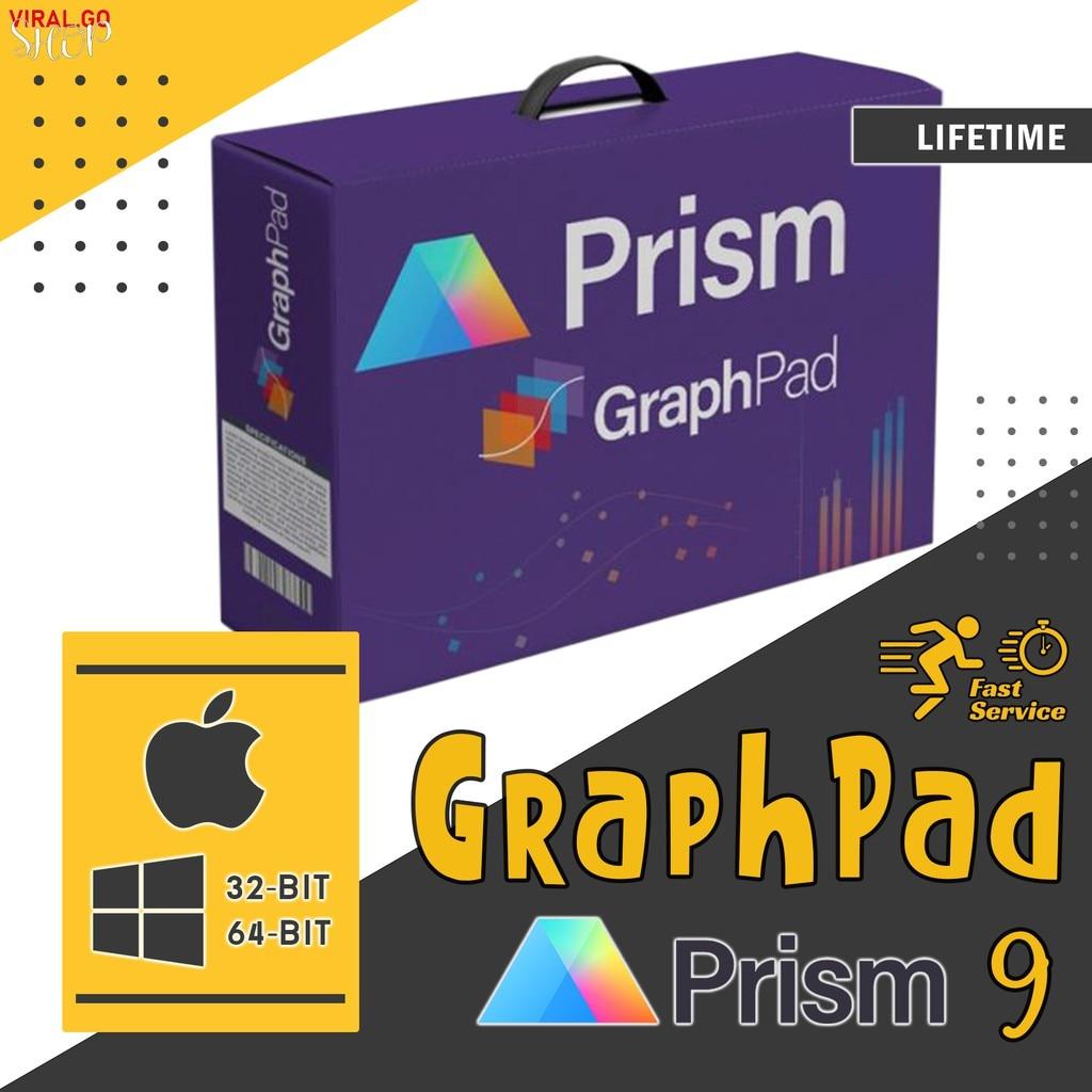GraphPad Prism 8 & 9 Lifetime Full Version For Windows & MacOS (32-bit & 64-bit)