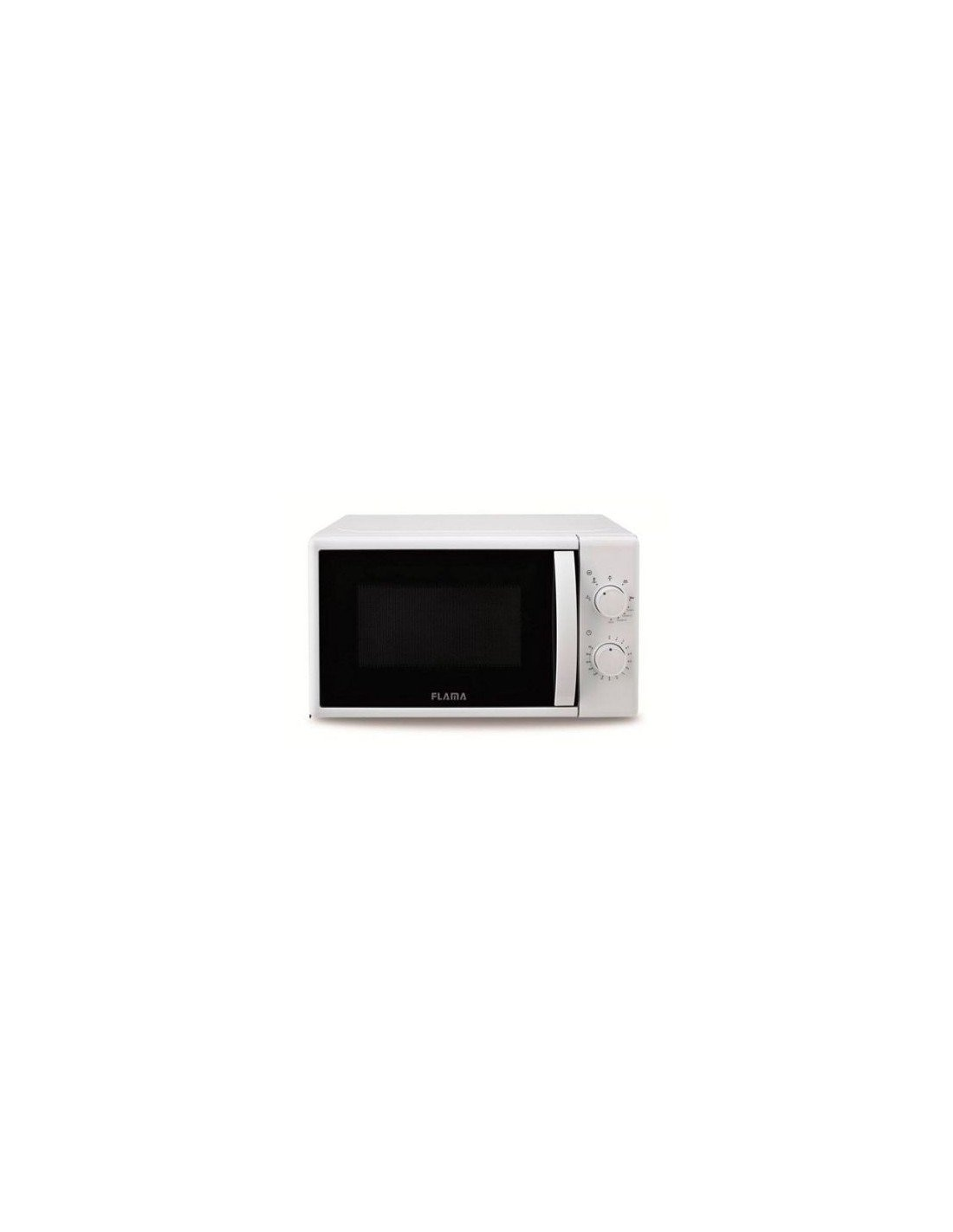 Белая микроволновая печь Flama 1884FL
