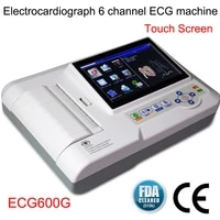 hot contec ecg600g 7 6 channel 12 lead digital cardiology ekg ecg machine with free pc software