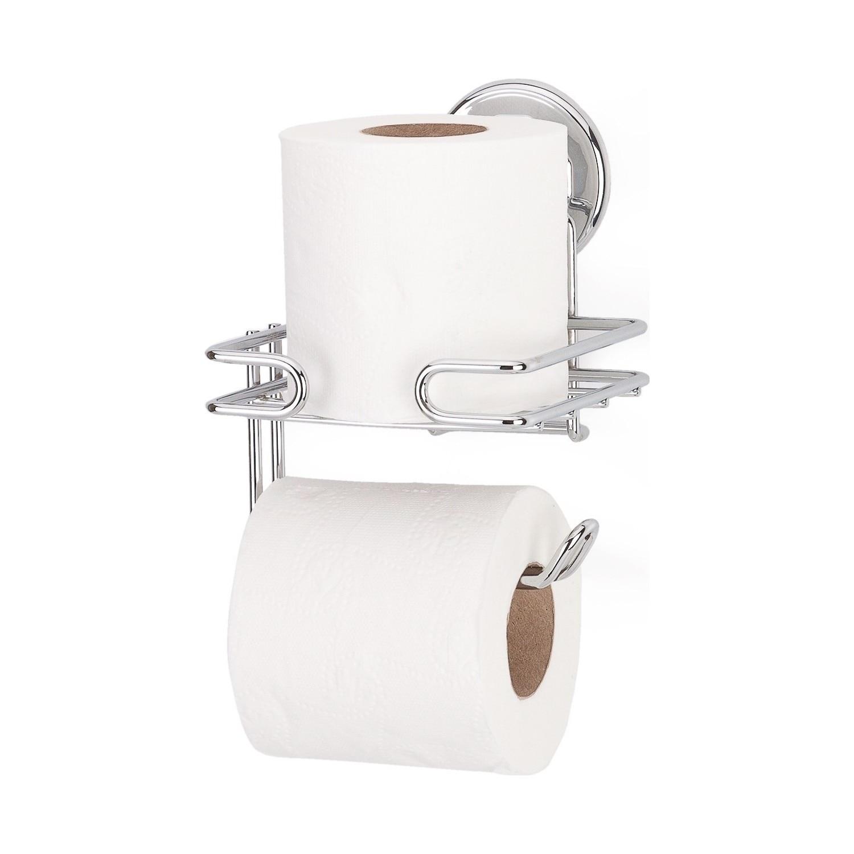 SERESSTORE Tekno-tel حامل ورق التواليت الاحتياطي, حامل ورق المرحاض كروم
