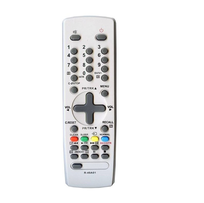 Télécommande Daewoo R-49A01 TV, DLP-20B2, DSC-3220E, DTH-29U7K-100D, KR-29U8-100