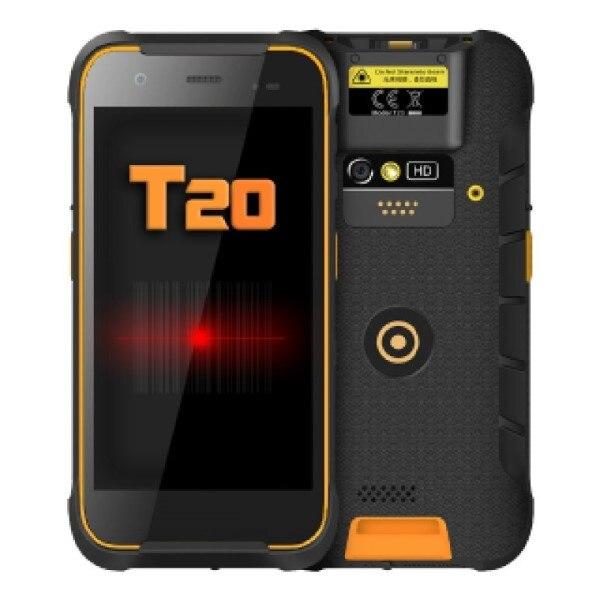 """PDA con 1D + 2D lector Mustek NOMU-T20 5 """"Quad Core 2 GB RAM 16 GB negro"""