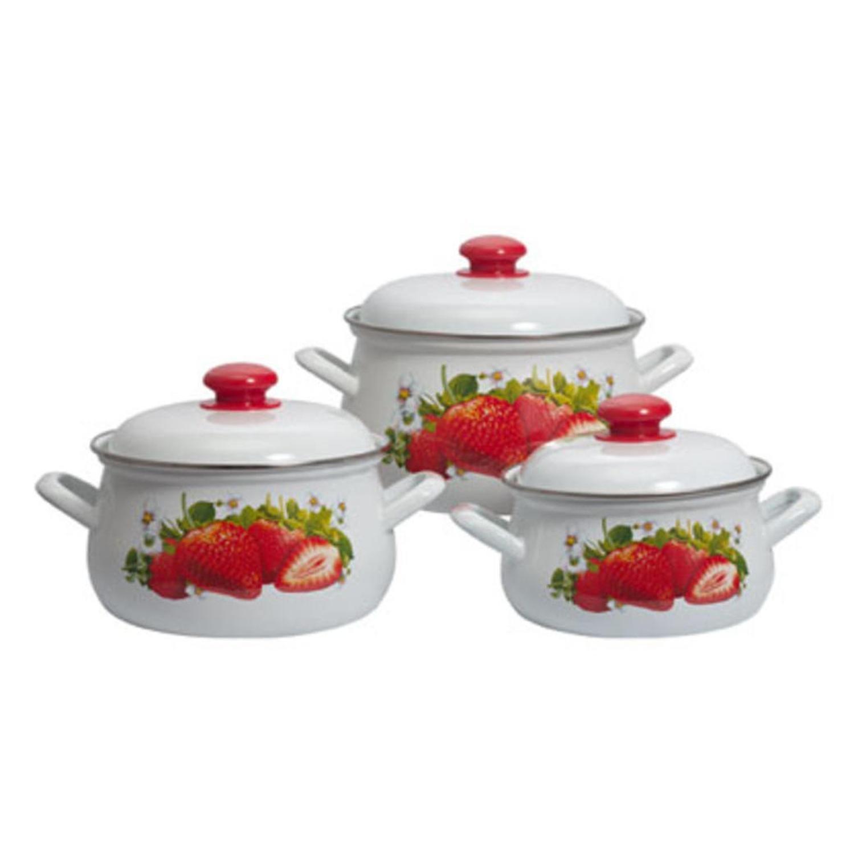Набор посуды Лысьва 129АП2/4 Сочная клубника