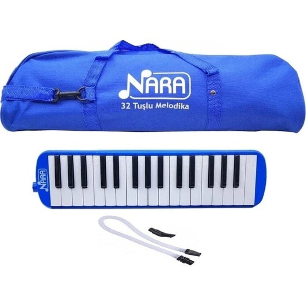 Nara ماركة 32 مفتاح ميلوديكا مع حقيبة حمل 32 مفتاح ميلوديكا البيانو لحني لوحة المفاتيح آلة الهدايا الموسيقية مع تحمل حقيبة