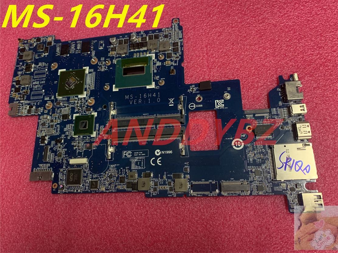 MS-16H41 VER 1.0 ل MSI GS60 WS60 لابتوب اللوحة مع I5 CPU و GeForce GT 840 متر 100% العمل OK