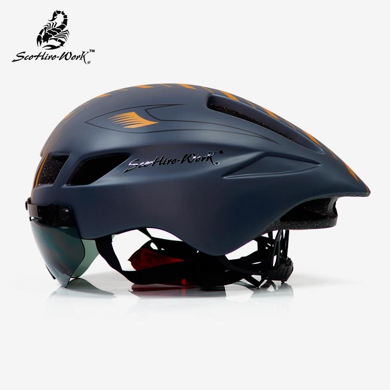 دراجة خوذة الرجال كاسكو Ciclismo الطريق mtb الدراجة الجبلية الترياتلون tt الدراجات خوذة عدسة نظارات إيكيب capacete دا bicicleta