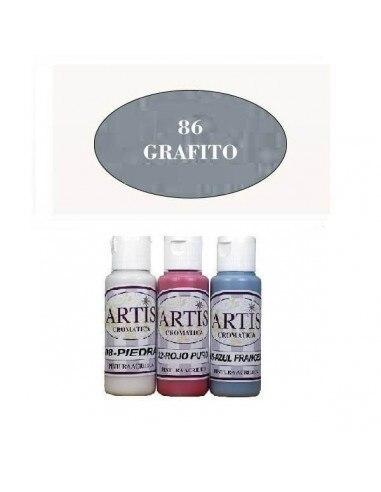 Grafite cromática 60 ml da pintura acrílica artis
