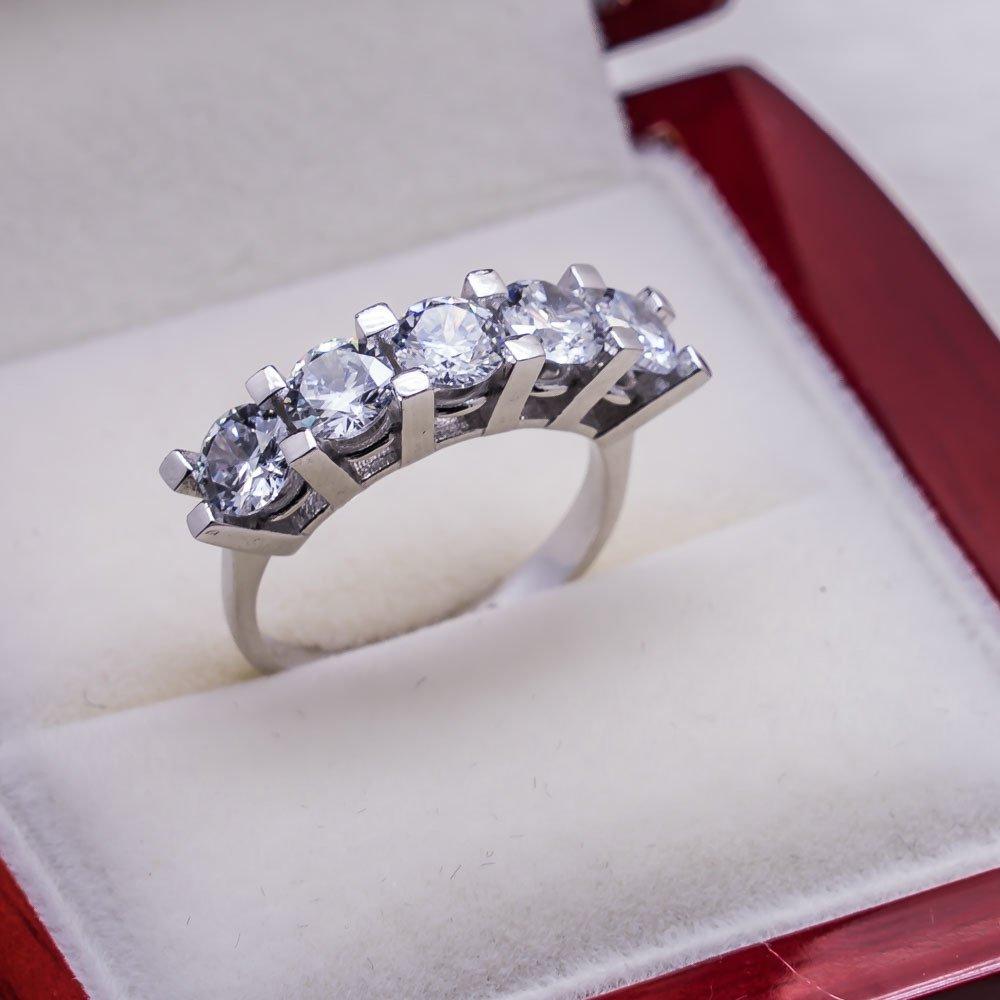 925 sterling Silber Dibs Dame Ring Modell 13