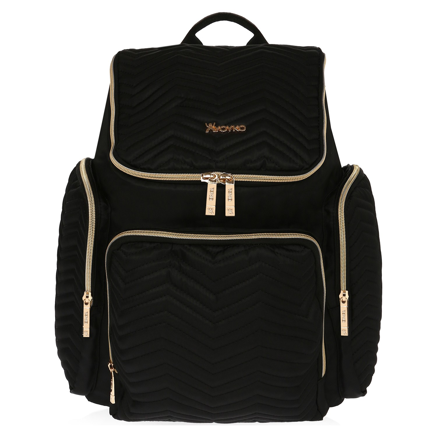 Yoyko New Mocca Mother Baby Care Backpack Black, Maternity, Large Capacity, Diaper Bag, Nappy, trave