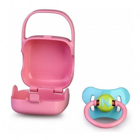 Nenuco Basic Accessories Blue Dummy+Pink Box Juguetería