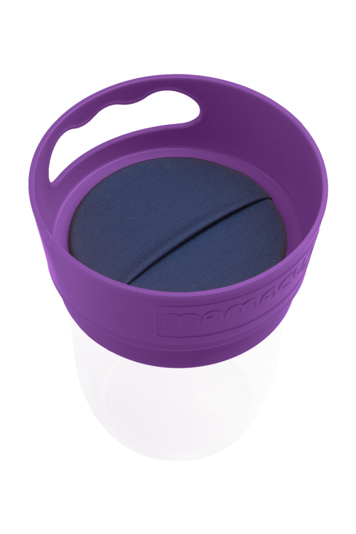 MamaCup Anti-Spill Snack Box / Cup for Baby Purple Color