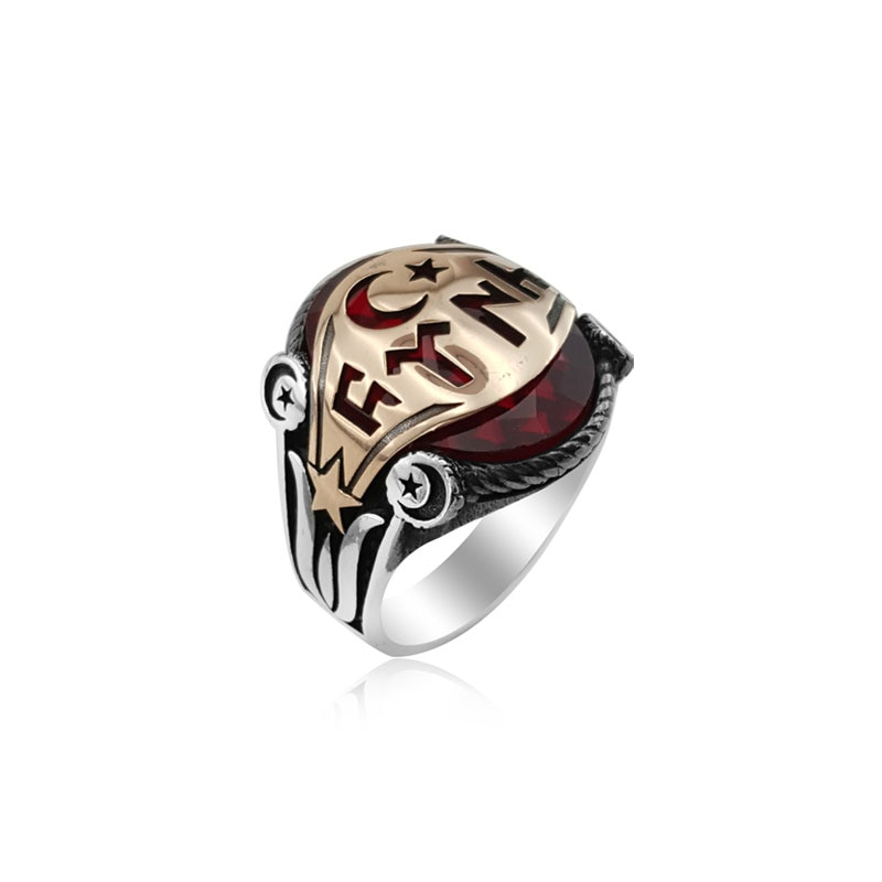 ¡Novedad de 925! Anillo otomano de plata para hombre, anillo Dirilis Ertugrul para hombre, anillo Kayi Original, superventas, anillos con patrón antiguo vintage