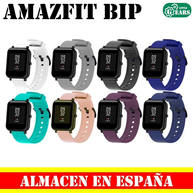 Xiaomi strap Amazfit Bip silicone accessory replacement smart watch sport band Bracelet waterproof replacement